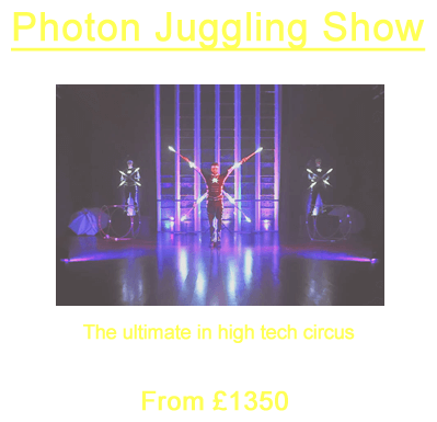 Photon Juggling Show